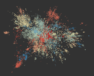This Map Plots all of the Niche Interests on Reddit