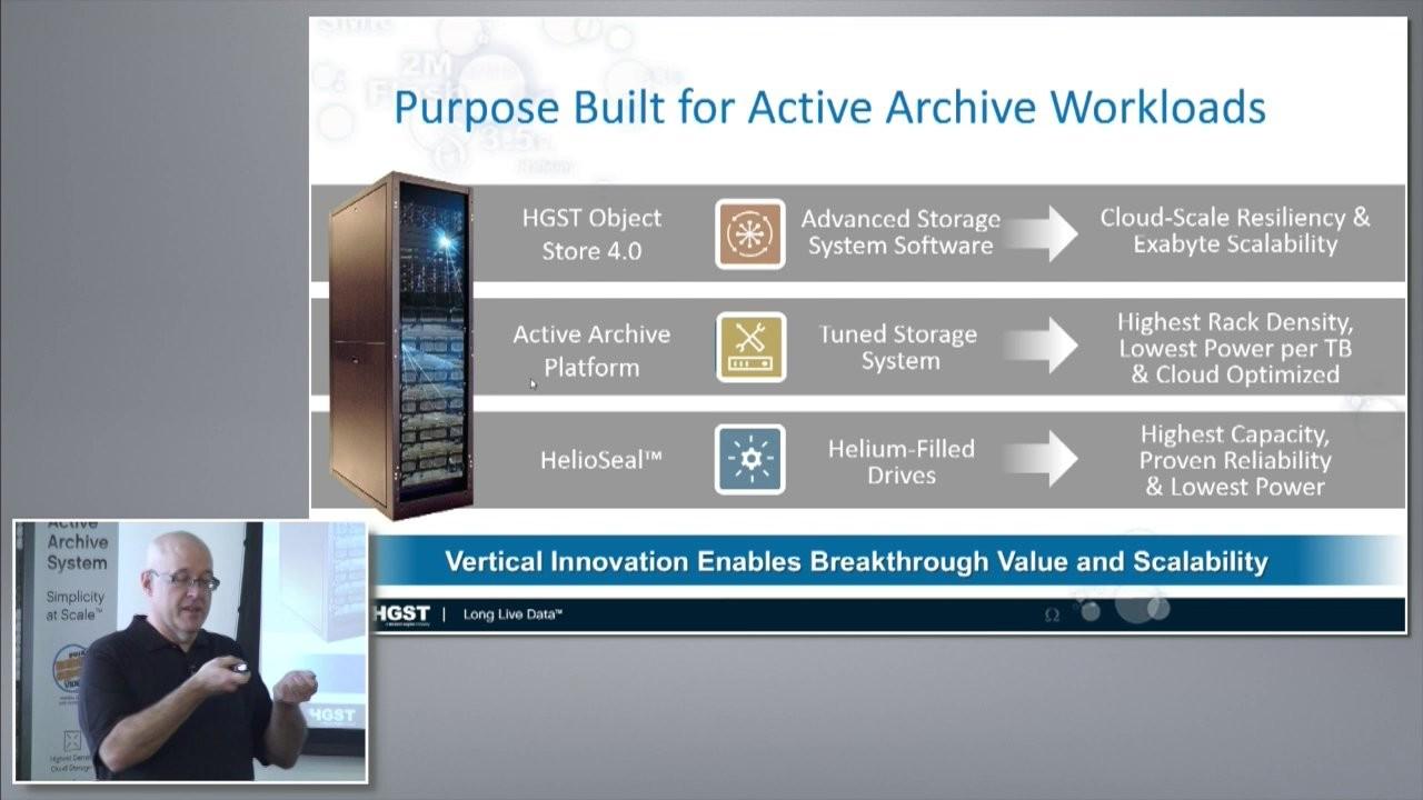 HGST Elastic Storage Platform & Active Archive Introduction