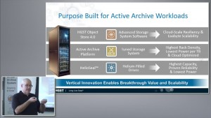 HGST Elastic Storage Platform & Active Archive Introduction