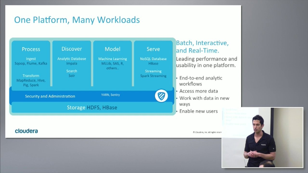 The Hadoop Journey with Cloudera