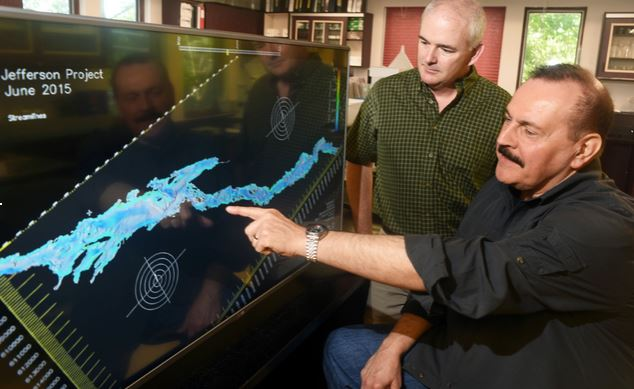 http://gisuser.com/2015/06/internet-of-things-turning-new-yorks-lake-george-into-worlds-smartest-lake/