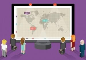 How wall-mounted KPI dashboards help increase BI adoption