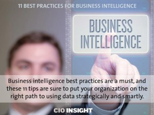 11 Best Practices for Business Intelligence