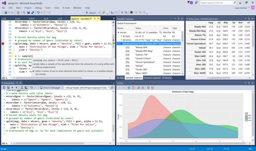 https://blogs.technet.microsoft.com/machinelearning/2016/03/09/announcing-r-tools-for-visual-studio-2/