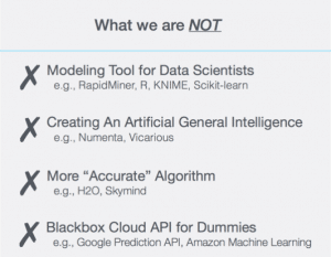 Positioning a Machine Learning Company