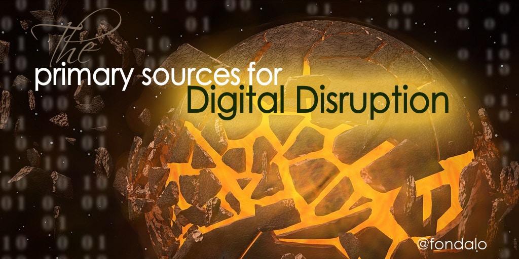 DigitalDisruption_PrimarySources