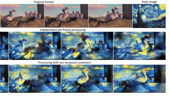 Algorithm Clones Van Gogh's Artistic Style and Pastes It onto Other Images