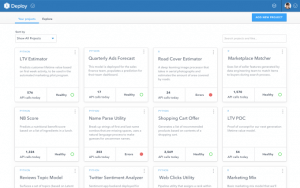 DataScience launches a service to easily query info and build models from anywhere
