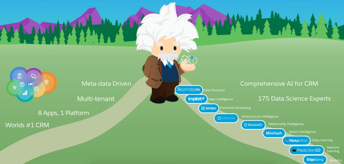 Salesforce Einstein deploys AI across the cloud suite