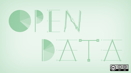 Open data as a game