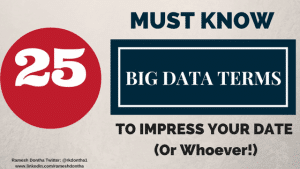 25 Big Data Terms You Must Know To Impress Your Date